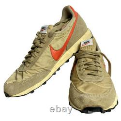 Nike Daybreak Original Vintage 1970s Beige Orange Size US 12.5 Dead Stock