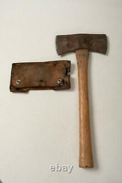 Norlund Saddle Cruiser (G2L) Double Bit Hatchet Axe withBeat Up Leather Cover