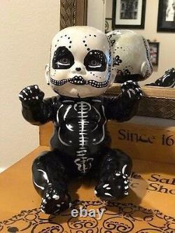 OOAK Halloween Michele Chirco Original Hand Painted Vintage Dead Baby Doll