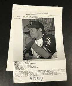 Original Rare 1995 Eazy-E Press Photo NWA Rap Hip-Hop Legend B&W Vintage Dead