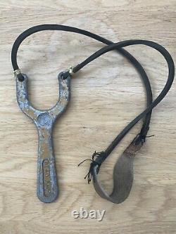 Original Vintage Dead Shot Catapult With Rubbers