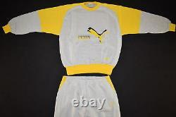 Puma Trainings Anzug Track Jump Suit Track Top Pullover Vintage Deadstock 7 L N