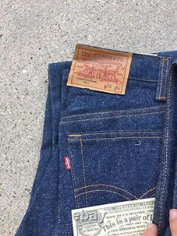 RARE! Lot Of 4! Levi's 1984 & 1987 Vintage 501 Dead Stock NOS Made In USA Denim