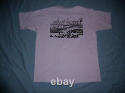 RARE VTG 80s Robert Hunter tour t-shirt Grateful Dead Med/LG Seattle 1982