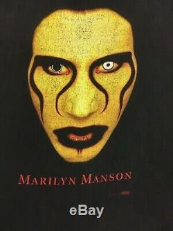 RARE Vintage Marilyn Manson Sex is Dead XL T Shirt 24x30.5 Original WINTERLAND
