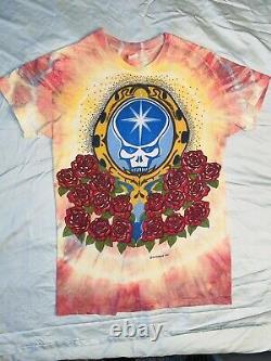 RARE Vintage Original Ed Donohue 1977 Grateful Dead T-shirt