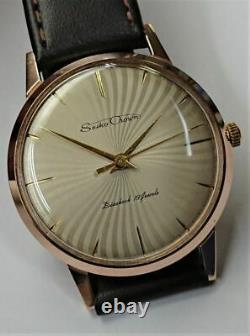 SEIKO Crown Full Original Dead Stock Manual Vintage Watch 1960's Overhauled