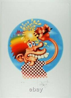 Stanley Mouse Ice Cream Kid Giclee Print 17 x 23 Signed LE/100 Grateful Dead