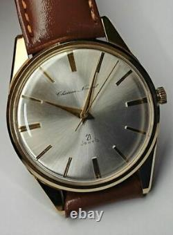 TAKANO Chateau Nobel Full Original Dead Stock Manual Vintage Watch 1962's OH