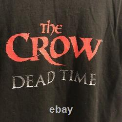 The Crow Dead Time Shirt Brandon Lee Movie 1996 Original Vtg T-Shirt Large Promo