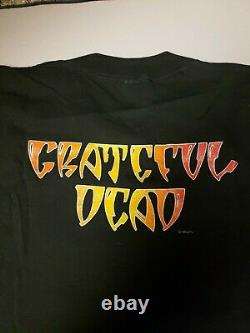 Unworn Grateful Dead Shirt T Shirt Vintage 1989 Halloween Pumpkin Skull GDM XL
