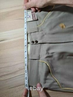 Unworn deadstock 1940s vintage western suit by California Ranchwear/HbarC