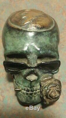 VERY RARE Vintage Grateful Dead Bob Epstein Original Bronze Sculpture 1980's