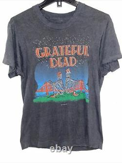 VINTAGE 1980s Grateful Dead T Shirt San Francisco Golden Gate Bridge GDP 1981