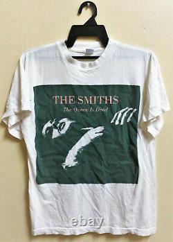 VINTAGE 80's THE SMITHS THE QUEEN IS DEAD ROCK TOUR CONCERT T-SHIRT MORRISSEY