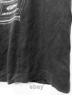 VINTAGE 80s DEAD KENNEDYS TOO DRUNK PUNK ROCK HARDCORE TOUR CONCERT T-SHIRT