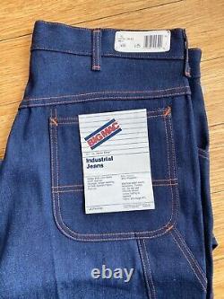 VINTAGE BIG MAC Denim Jeans Engineer work pant Dead Stock 33x32