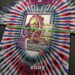 VTG 90s/2000 Delta Grateful Dead Millennium Tour Graphic T Shirt XXL Tie Dye'97