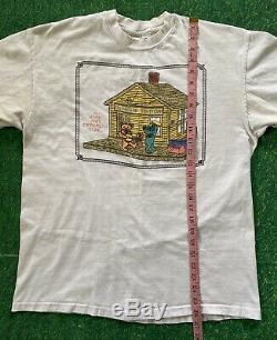 VTG Grateful Dead 1993 Bearapin Station T-Shirt GDM Original Rare Different Tune
