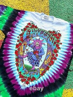 VTG Grateful Dead 1993 NEW The Endless Tour Seasons of the Dead shirt tie dye XL