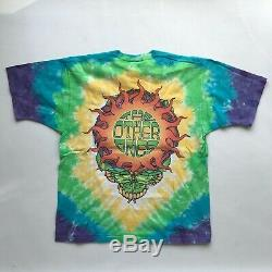 VTG Grateful Dead 1998 The Other Ones tie dye shirt liquid blue