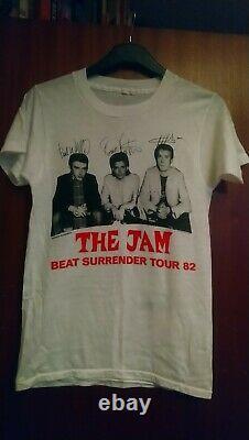 Very Rare The JAM Beat Surrender 1982 TOUR T Shirt ORIGINAL VINTAGE size S-M