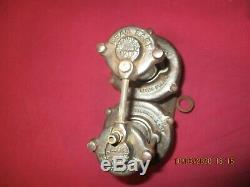 Veteran vintage dead easy car tyre pump, original old car tyre pump 1917