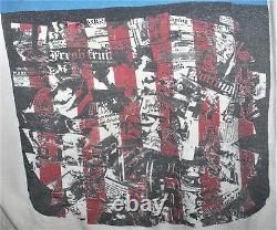 Vintage 1980 Dead Kennedys Punk Rock Hardcore Tour Concert Promo T-shirt