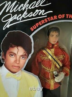 Vintage 1980's MIB Mint In Box Michael Jackson Action Figure Doll, Beat It, LJN
