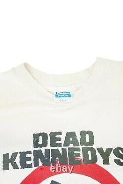 Vintage 1981 Dead Kennedys Punks F Off T-Shirt Single Stitch VTG90 original 90's