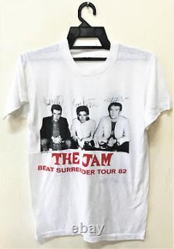 Vintage 1982 The Jam Beat Surrender 50/50 Punk Rock Tour Concert Promo T-shirt