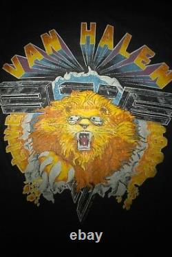 Vintage 1982 Van Halen Diver Down CONCERT TOUR TSHIRT Size Small Mint DEAD