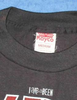 Vintage 1987 KISS Crazy Nights Parody Tee Md T-shirt Dead Stock Gene Simmons