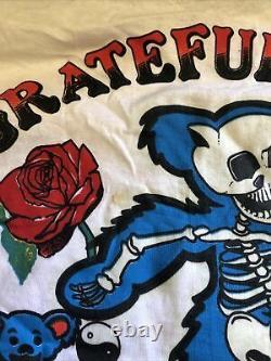 Vintage 1989 Original Grateful Dead Built To Last Shirt Size XL