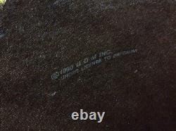 Vintage 1990 GRATEFUL DEAD Skeleton WILD OATS Brockum ALL OVER T Shirt LARGE L