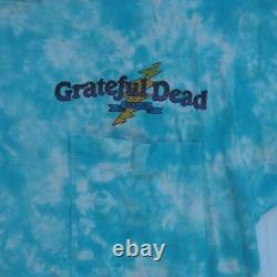 Vintage 1991 Grateful Dead Ian Bohorquez Brockum Tie Dye T-shirt Size L