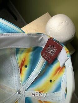 Vintage 1992 Grateful Dead Hat/Cap Balzout Tye-dye USA Steal Your Face Snapback