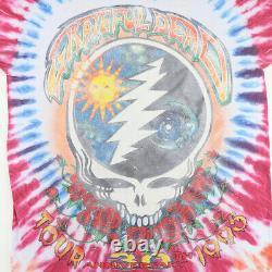 Vintage 1995 Grateful Dead Summer Tour Tie Dye Shirt