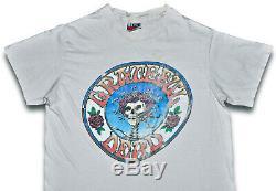 Vintage 70s 1978 GRATEFUL DEAD Rock Concert T SHIRT Hanes Mens S Ladies M RARE