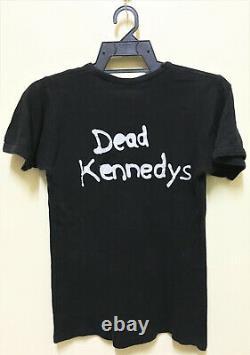 Vintage 80 Dead Kennedys Too Drunk Punk Rock Hardcore Tour Concert Promo T-shirt