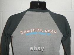 Vintage 80s 1982 Grateful Dead Summer Tour Raglan T-Shirt Small