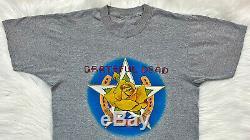 Vintage 80s 1983 GRATEFUL DEAD Manor Downs Austin Texas Concert T SHIRT Mouse S