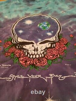 Vintage 80s Grateful Dead Band Tee Shirt Xl Anvil Single Stitch