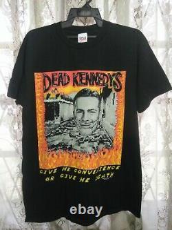 Vintage Dead Kennedys 1990s Punk Tour T-shirt Original