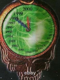 Vintage Delta Grateful Dead Millennium Tour Graphic T Shirt XL Tie Dye 1997