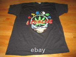 Vintage GRATEFUL DEAD Legalize Concert Tour (XL) Shirt JERRY GARCIA Skull Bear