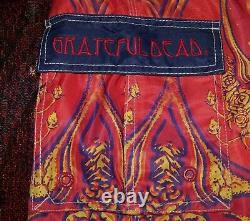 Vintage GRATEFUL DEAD SPACE YOUR FACE Art Dragonfly Swim Surf Board Shorts Sz 34