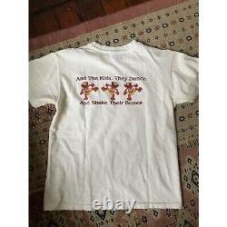 Vintage GRATEFUL DEAD super RARE Throwing Stones ELMO T Shirt sz SMALL