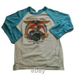 Vintage Grateful Dead 1979'Long Strange Trip' Baseball Jersey Tour Shirt