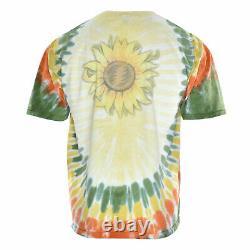 Vintage Grateful Dead 1994 Sunflower Rock Band Concert Tour Tie Dye Tee Shirt XL